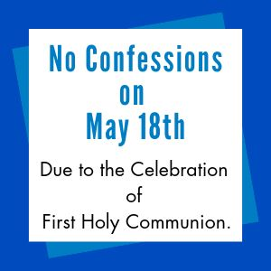 No Confessions on Oct. 13th