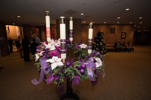Advent Candle Lighting
