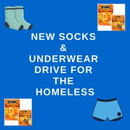 New socks and underwear drive