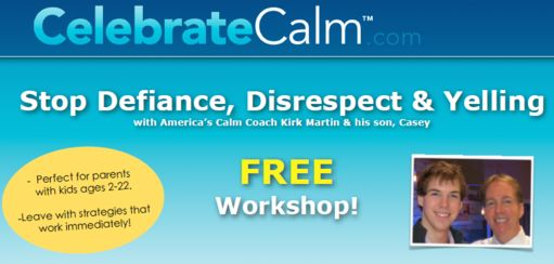 Celebrate Calm: March 26 & 27th