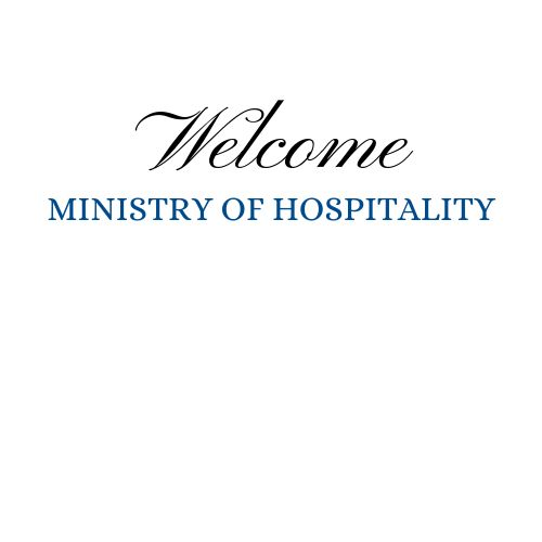 Join the Ministry of Hospitality: Mon. July 29th 7pm