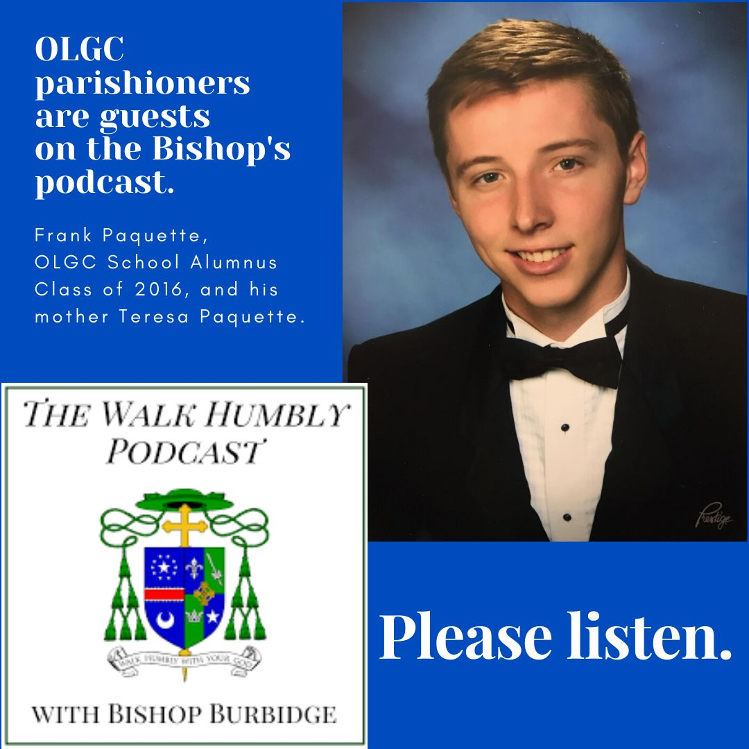 Parishioners are guests on the Bishop's Podcast