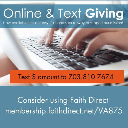Enroll in Faith Direct or Give Online