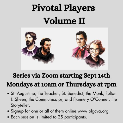 The Pivotal Players starting June 1st